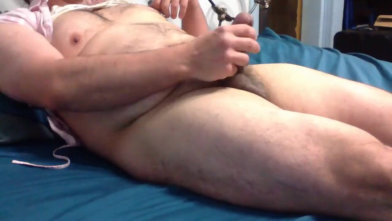 Its Me Masturbating In My Bedroom. (CD Pierced Nipples.) Massaged milf facialized as happy end