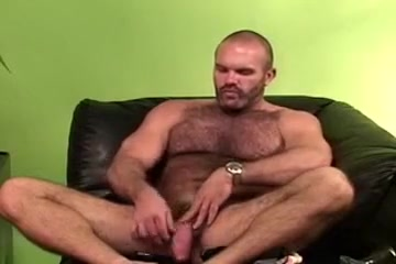 Super hairy bear solo masturbation Hold pee pee