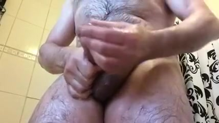 Naughty hairy me during shower Who is up for chatting in Lausanne