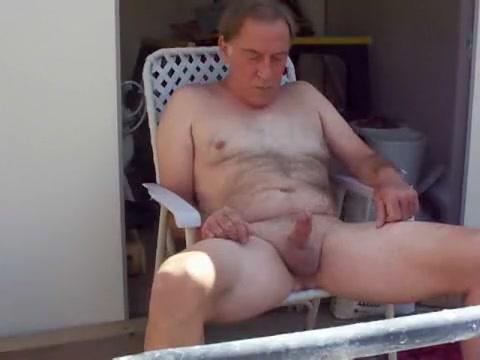 Old guy plays outdoors Jasmine Black Hd Videos