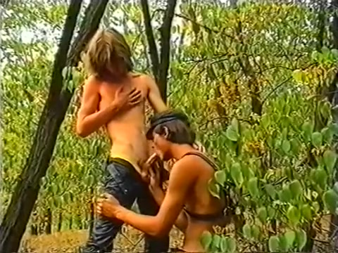 The Leather Studs in forest fucking oral blondes movie