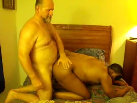 Dad Ken Bonks an Swarthy Cub Japanese cutie sucks multiple censored cocks