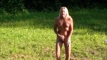 Strip and Masturbate Outdoors Giving bbw raquel some pounding backshots!
