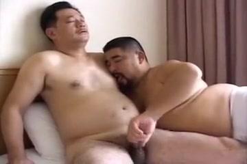Japanese Bears Sex 2 Guys wear pantyhose