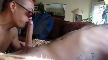deepthroating punk Female orgasm on dick