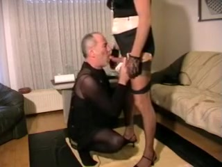 submissive tail girl rita of dwt mistress used Men Lick Cum Off Feet