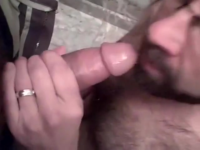 Hairy bearded cocksucker close up Sporty Housewives Lesbian at The Gym