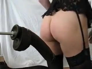 Fucking machine continued my girlfriend loves black cock