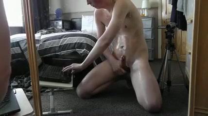 Oiled, Huge Squirting Cumshot, Must See! Do girls like big men