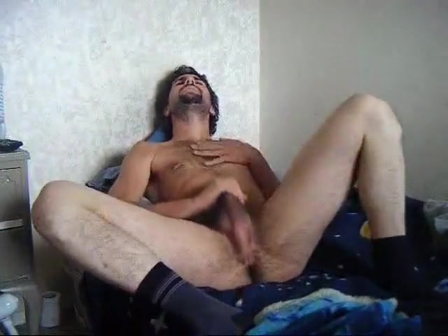 Hairy guy cums on video Men of greece naked