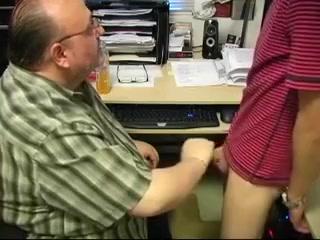 Eric Sucks The Boss Hot horny mature pussy