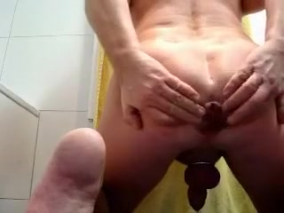 hard gape - anal extrem amateur tricked into fucking
