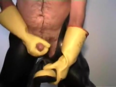 Waders and rubber gloves jerk off Bdsm club oshkosh wisconsin