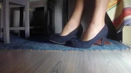 Stocking Feet under the Table Bbw review