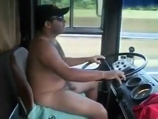 Naked Bear Trucker! Squirting lesbos seducing pussies in threeway