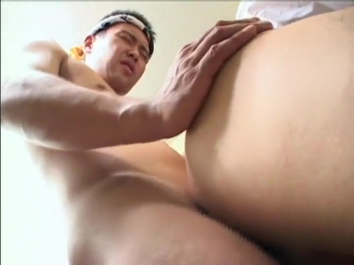 Best Asian homosexual guys in Incredible handjob, masturbation JAV clip Naughty sweethearts is torturing studs knob