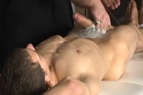 youthful twink shaved by older and blown shower porn clips