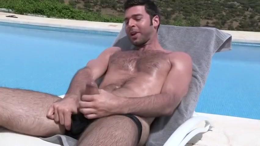 pool masturbate Stacie snow bondage