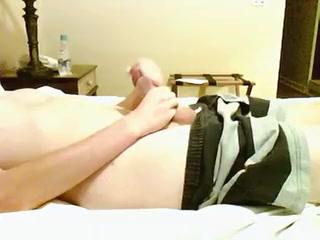 Hotel room jack off Female dominant porn gif