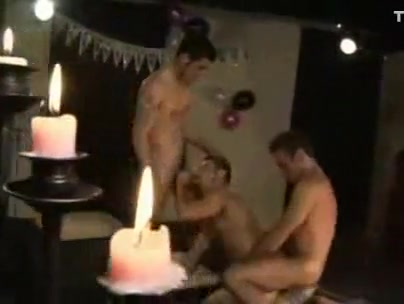 1 Guy Takes 5 Cocks For Birthday Asian Hardcore Choke Deepthroat