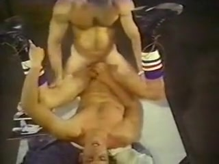 Hot Lunch fucked by strapon girlfriend