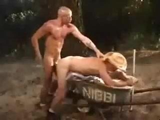 Fucking A Cowboy bootylicious ebony milf with big tits black belladonna gets shagged