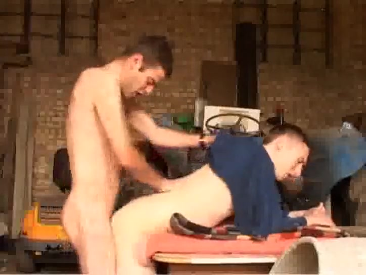 Bareback Buddies on a Bench Part 2 Sexy breast niple