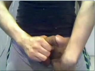 Argentino jerking off 10 bbc cumming deep down his throat