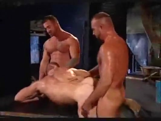 Three men video of nice tall girls fucking hard