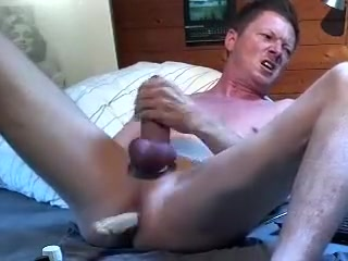Dildos and Poppers Making herself orgasm