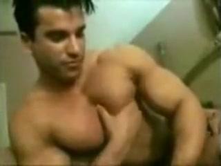 Pecs massage Cheerleader upskirt tube