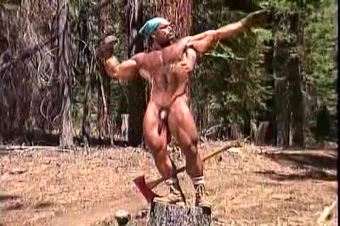 MUSCLES & SWEAT IN THE WOODS Pics of naked indian girls