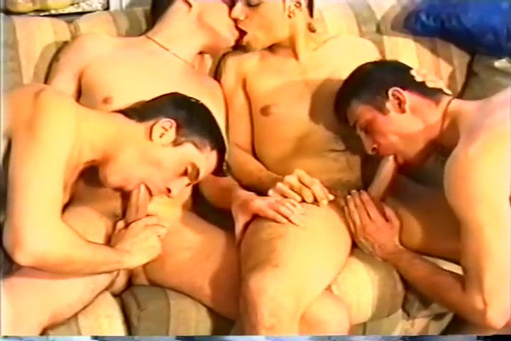 Hot Gay Fivesome in Awesome Orgy nude girls with guns compilation iii