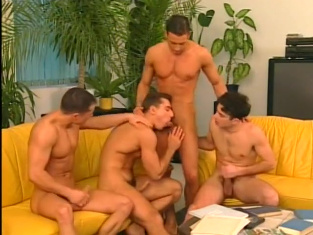 Four Muscular Athletes With Gorgeous Bodies In Hot Sex Orgy Sasha Fucks Dasha Black Strapon