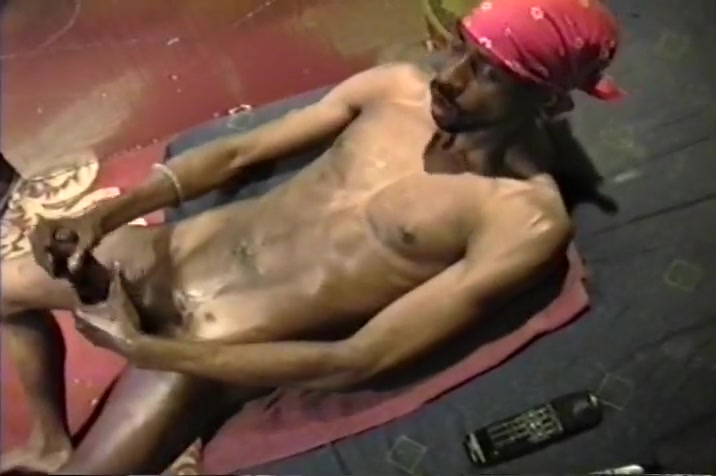 Toned Black Stud With Huge Cock Wanking Gay anal to cocks one hoel