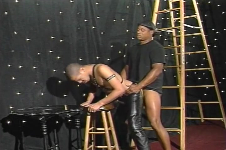 Black Boi Wears Leather For His Master College girls amateur videos