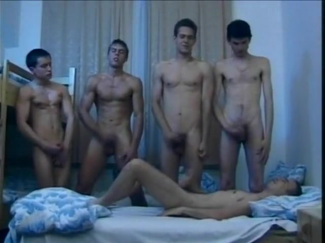 Hungarian Gay Dorms at Lights Out Kik wedgie