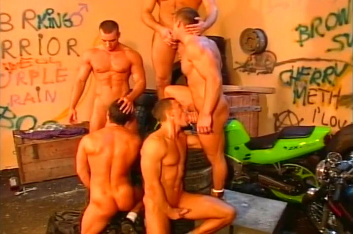 Five Bikers Sucking And Fucking Hawt darling acquires fucking after oralservice