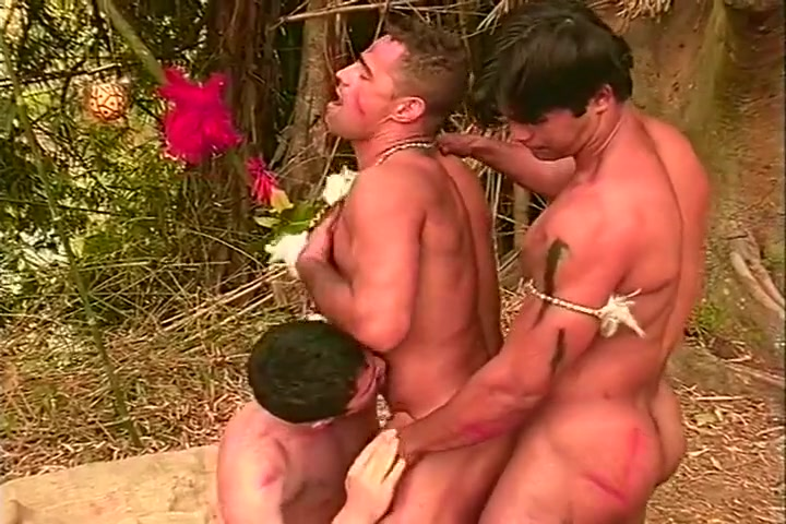 Well Built Gay Tribesmen in Threesome Grovedale geelong