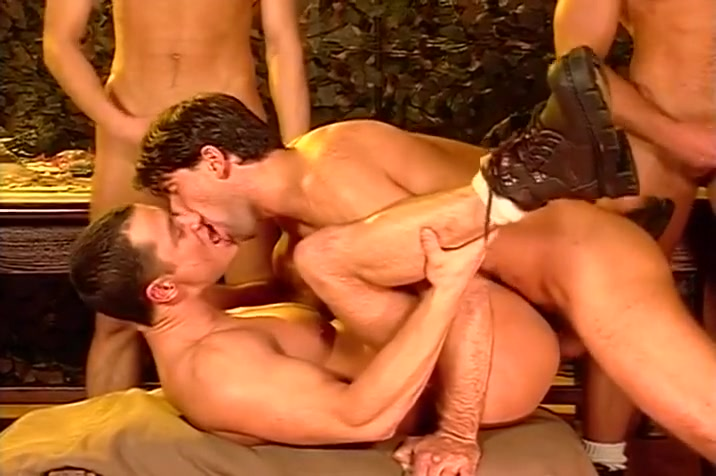 A Wild Gay Orgy In Army Boot Camp Chinese girl white man