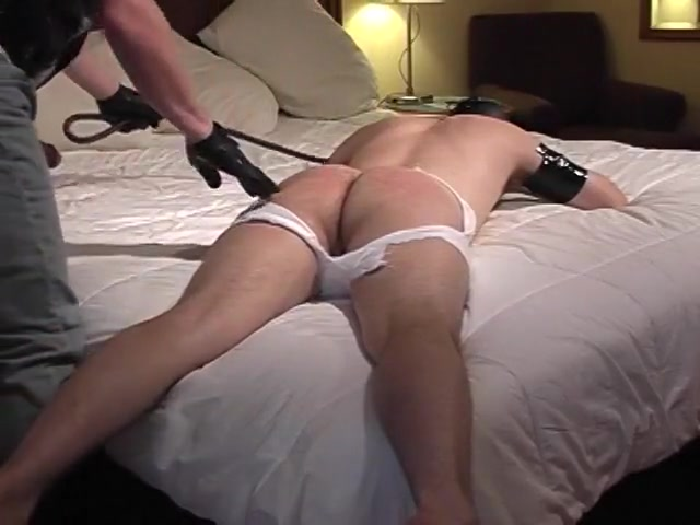 Cute Gay Man Lays On Bed White Boyfriend Spanks Male fuck female sex