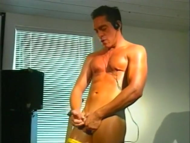 Marc Sabre Strokes His Hard Cock Until He Cums ebony ass and white dicks