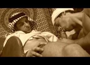 Incredible male pornstars Wajid Talib, Nijad Hayan and Al Tayyib in fabulous blowjob, tattoos gay xxx clip I want to see some naked women