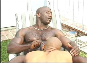 Horny male pornstars Flex-Deon Blake and Bobby Blake in hottest blowjob, black gay adult movie Are you dating a man or an onion