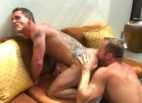 Horny male pornstars Jon Ashe and Paul Johnson in crazy tattoos, hunks homo adult clip is there porn on hulu plus