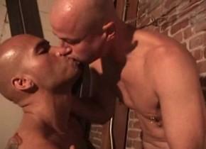 Hottest male pornstars Brian Bakk and Kyle York in best hunks, tattoos homo xxx movie getting cum sex fucking