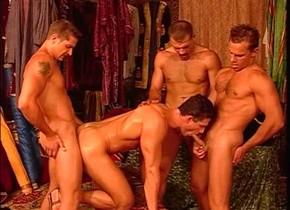 Amazing male pornstar Claudio Antonelli in fabulous blowjob, masturbation gay adult clip Gripping fur pie pleasuring