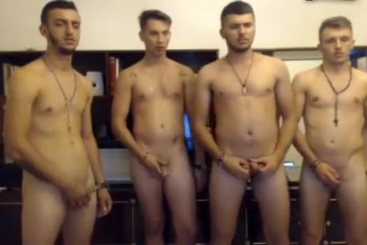 4 Romanian Gorgeous Naked Boys Have Fun On Cam bangbros monsters of cock alicia