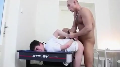 Incredible male in amazing fetish gay adult scene Black Ass White Cock Anal