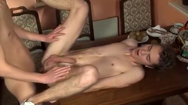 Bill Brown In Boys In The Snow Darling rides on studs ramrod after oil massage